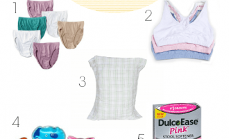 5 postpartum essentials