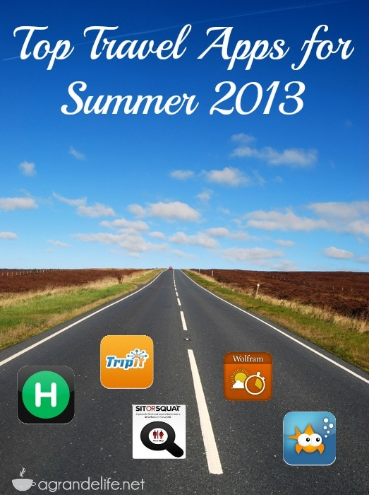 top travel apps for summer 2013