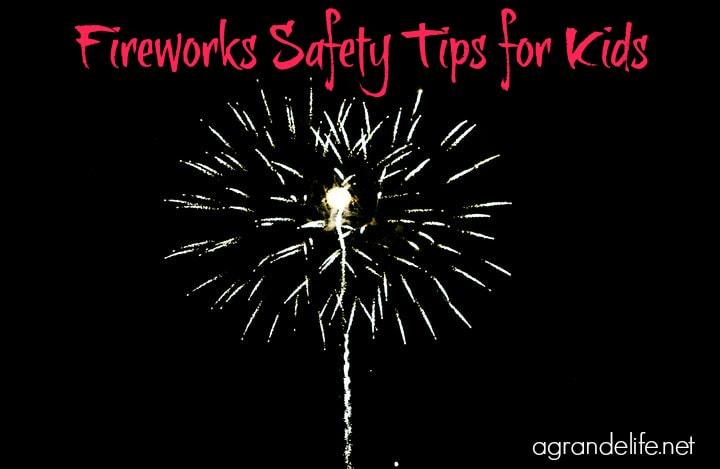 Fireworks Safety Tips for Kids
