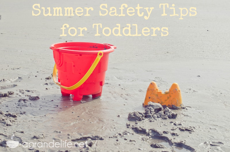summer safety tips for toddlers