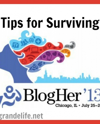 tips for surviving blogher 13