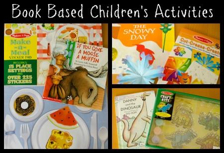 book based children's activities