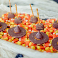 Witches' Hats & Broomsticks