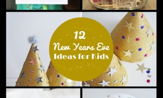 12 New Years Eve ideas for kids