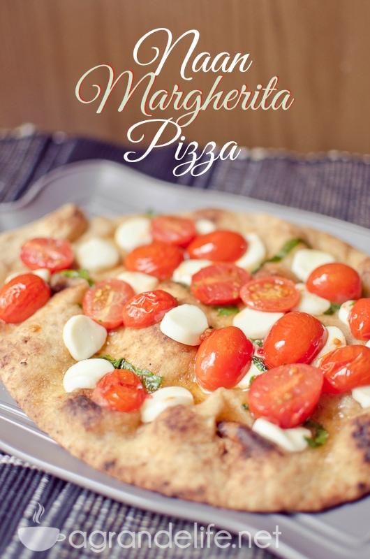 Naan Margherita Pizza-3