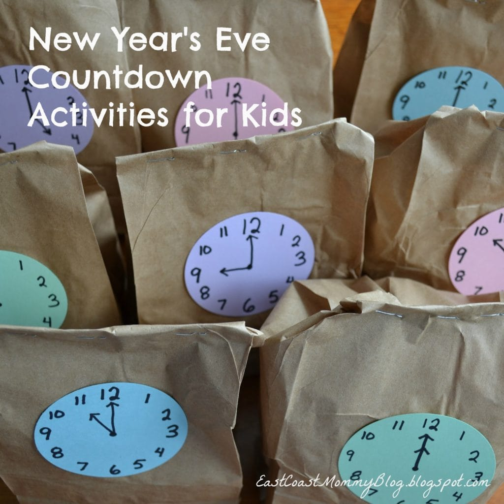 12 New Year's Eve Ideas for Kids