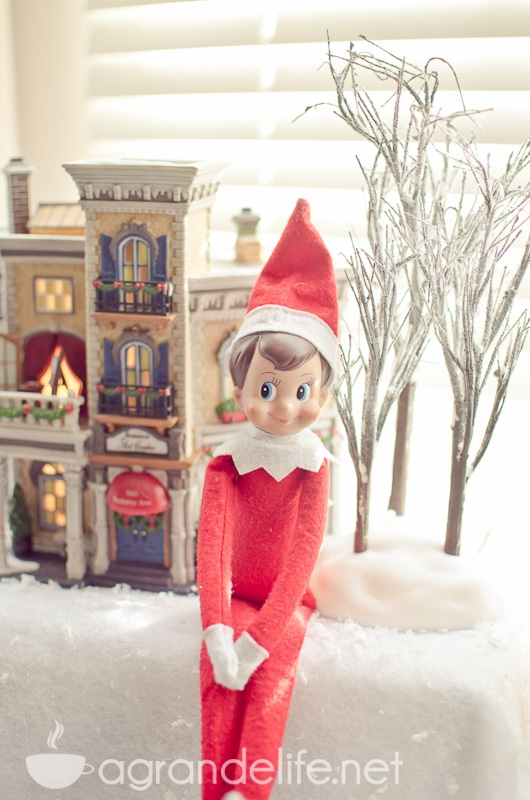 Elf On The Shelf Link Up Week 3 A Grande Life