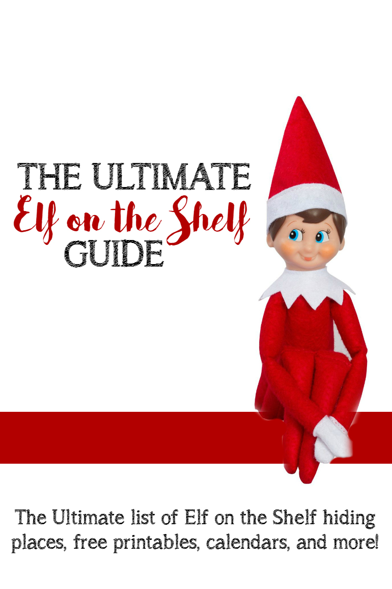 the ultimate elf on the shelf guide