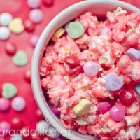 Valentine's Day Candied Popcorn