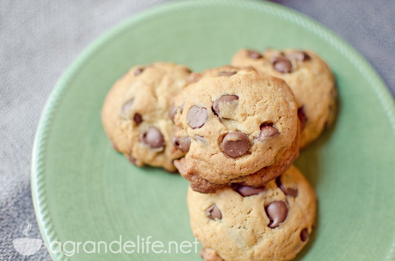 chocolate chip cookies #sweetswaps