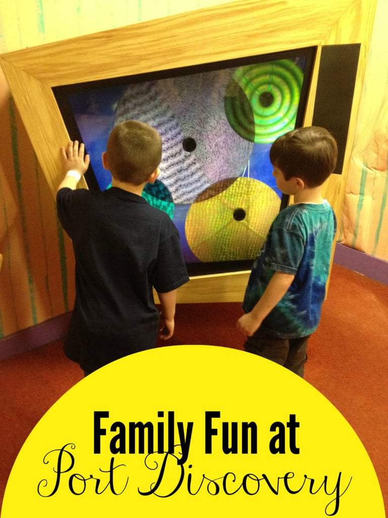 family fun at port discovery