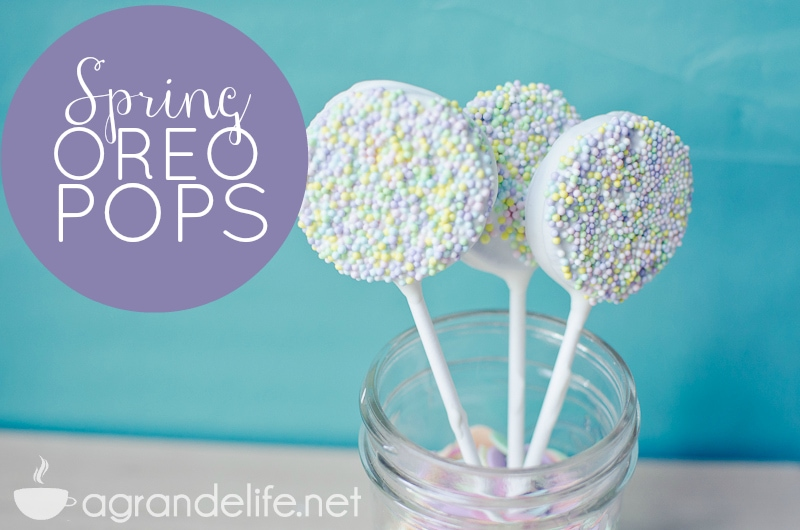 chocolate dipped oreo pops