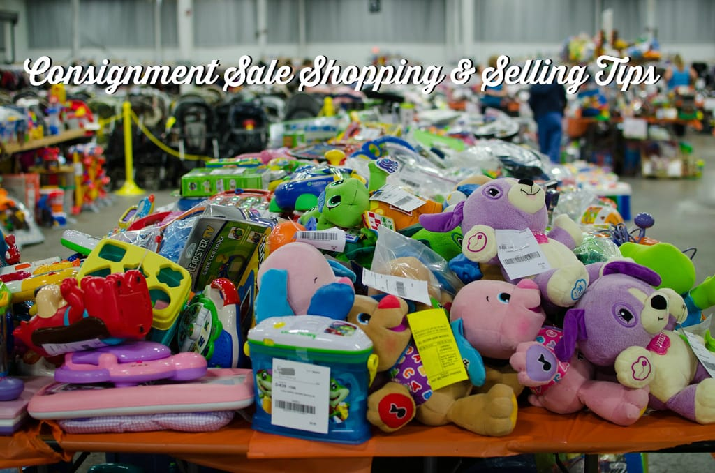 consignment sale shopping and selling tips