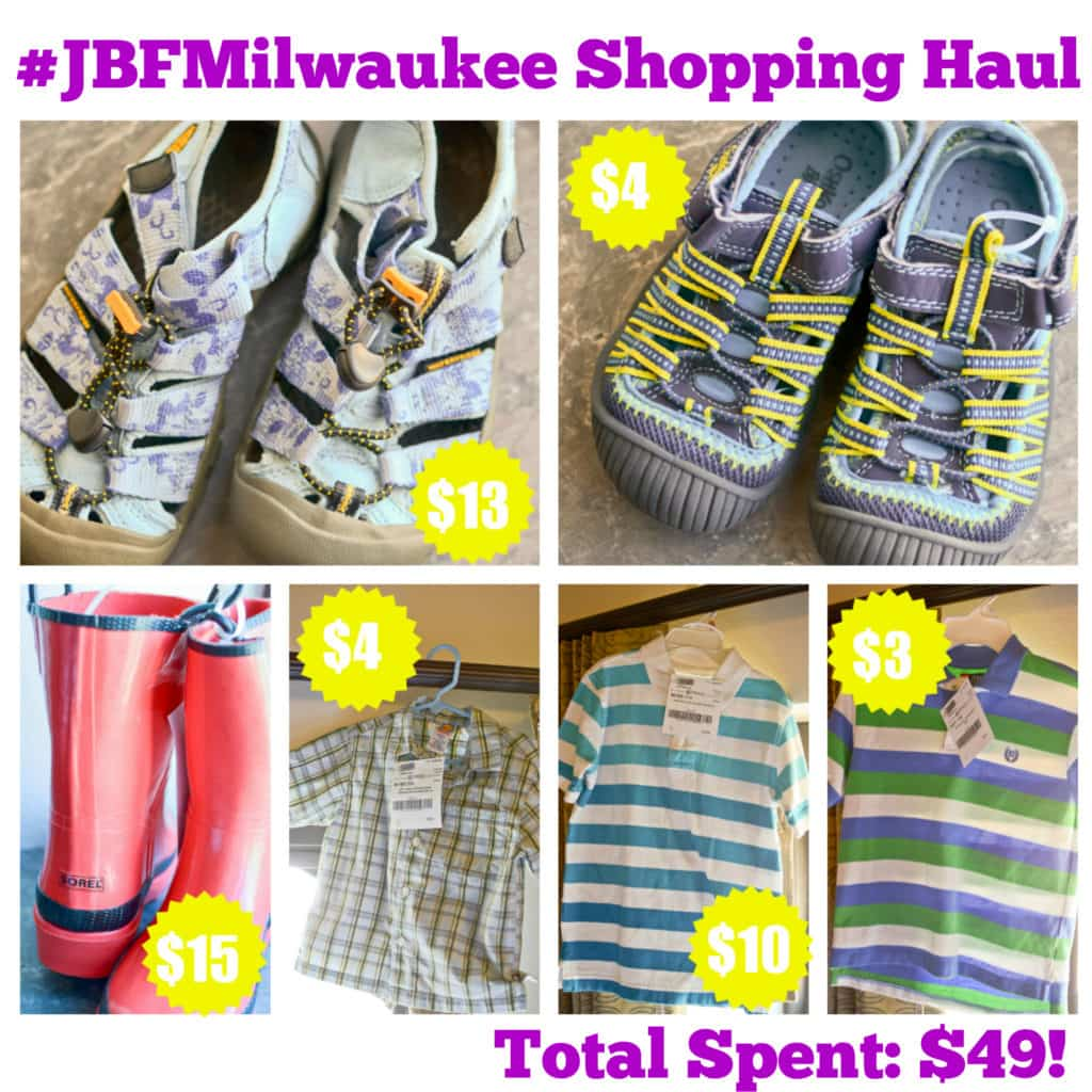 jbf milwaukee shopping haul