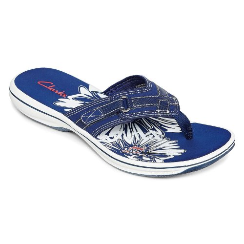 Simple Blue/Navy Touched By Nature Sandals In Size 9 Womenu0026#39;s At Up To 95% Off - Swap.com