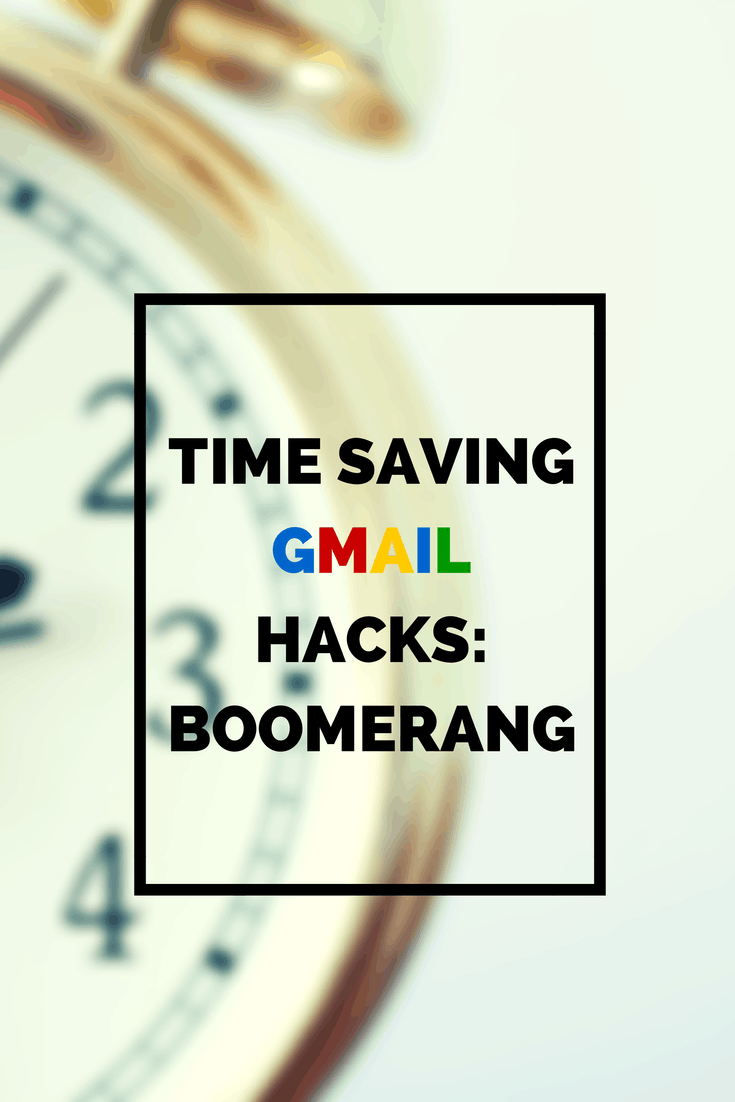 time saving gmail hacks