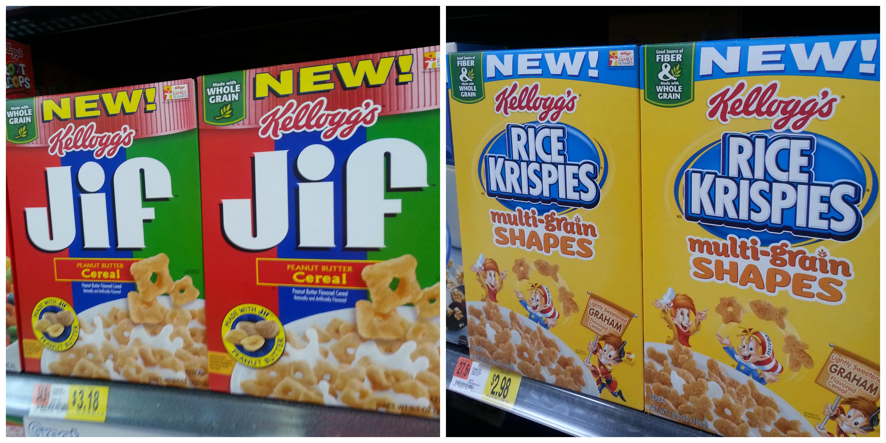 new cereal