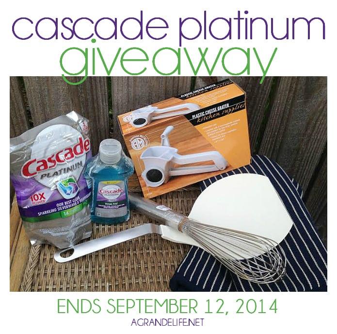 cascade platinum giveaway