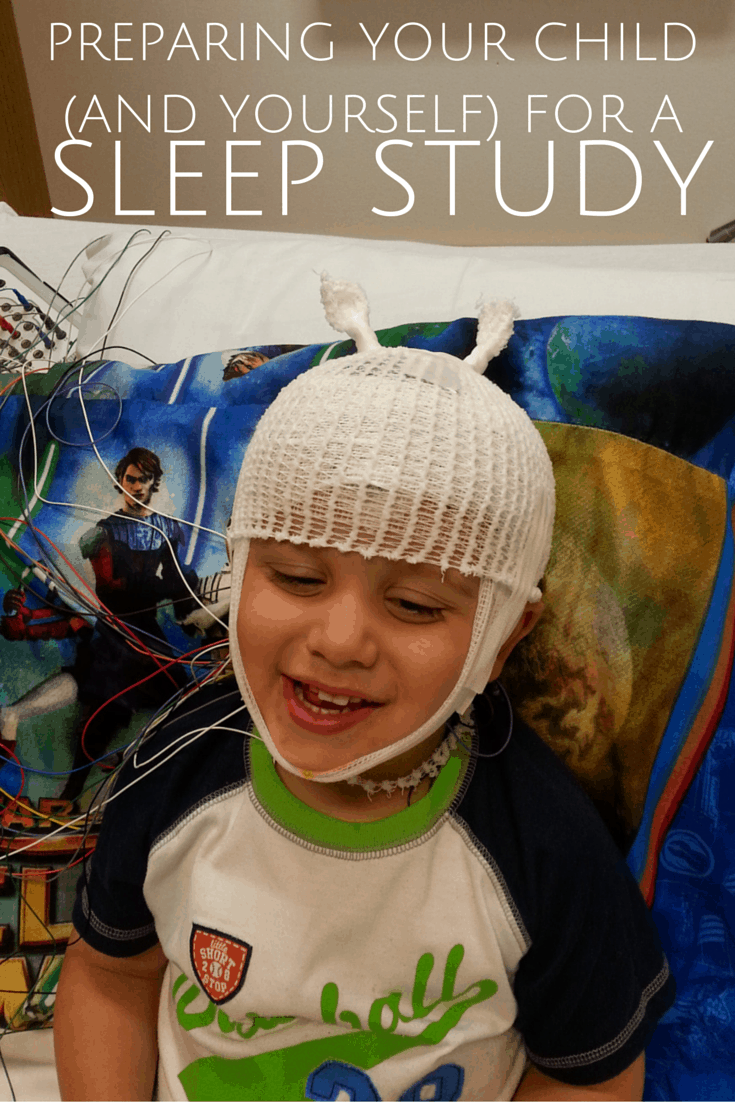 preparing your child for a sleep study