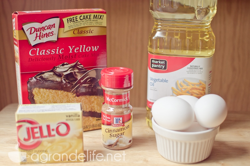 Cinnamon Swirl Cake Mix Recipe