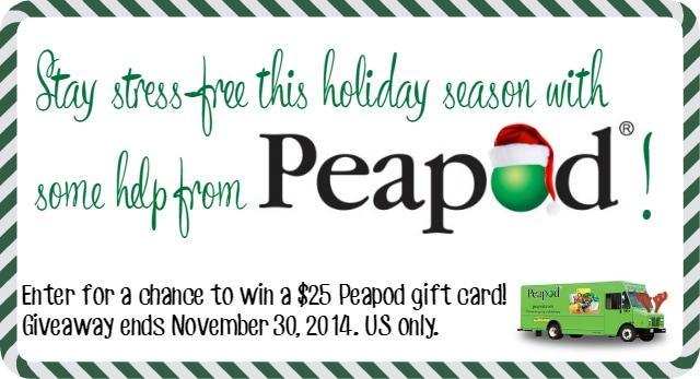 peapod giveaway