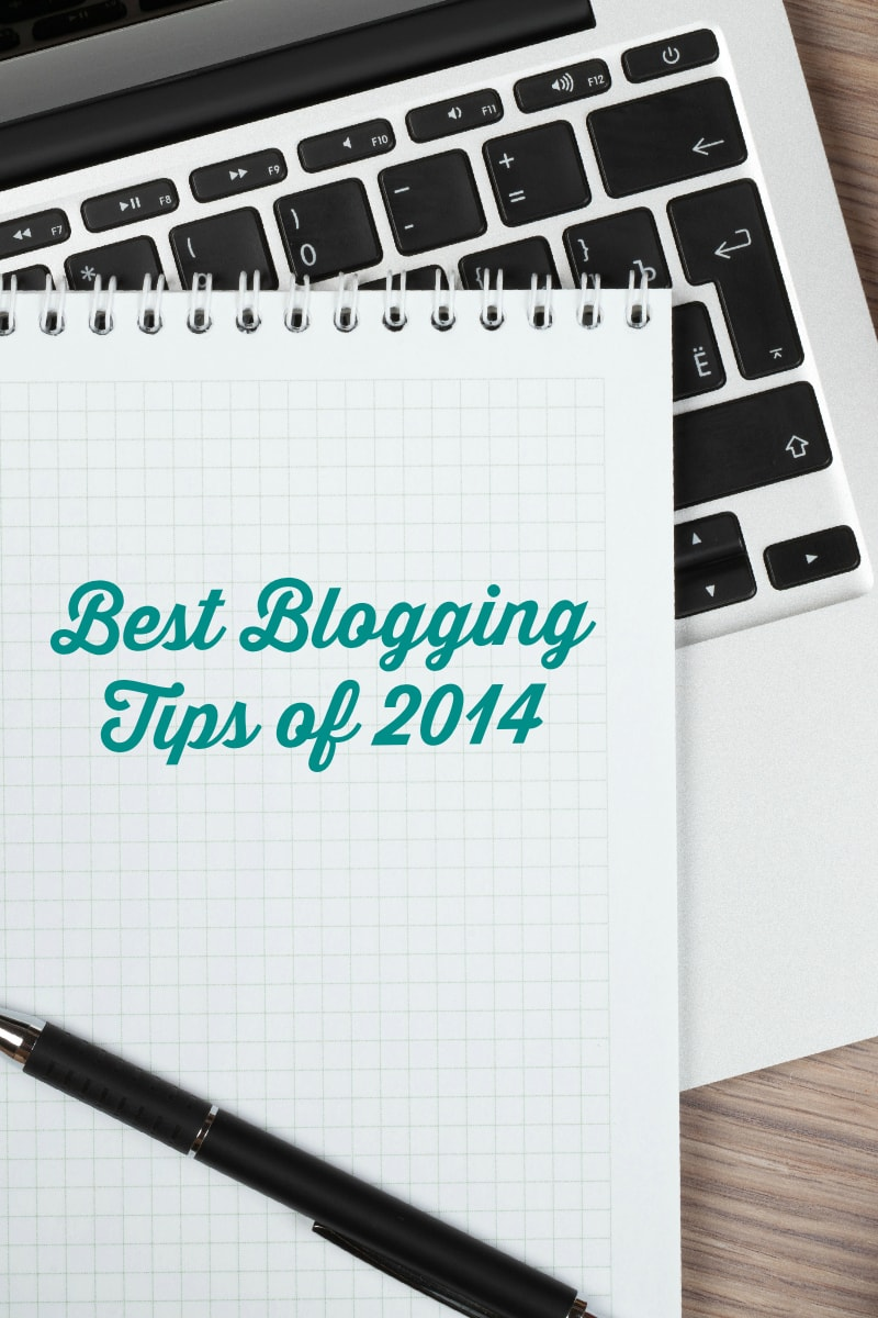 best blogging tips of 2014