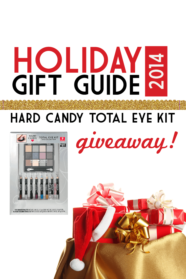 holiday gift guide hard candy total eye kit