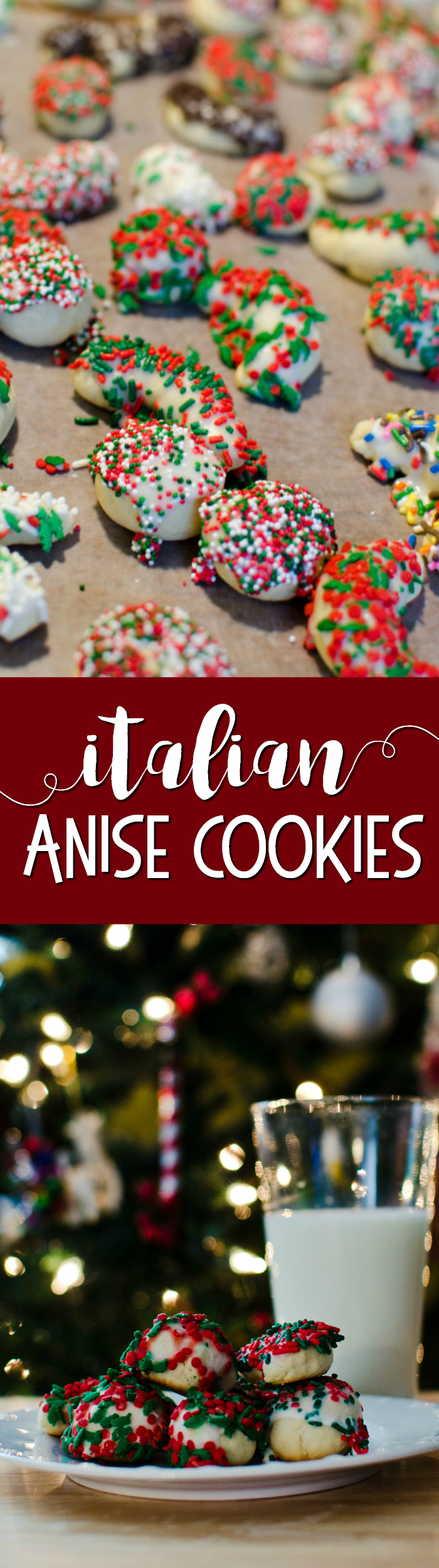 Traditional Italian anise cookies are quick and easy to make with just a few ingredients, including anise extract.