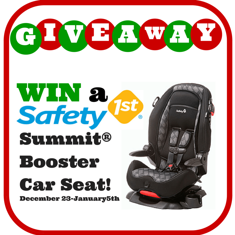 safety 1st summit booster car seat giveaway