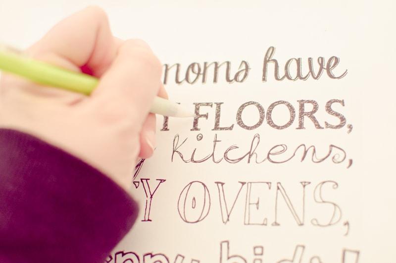 easy chalkboard lettering-4