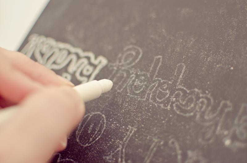 easy chalkboard lettering-6