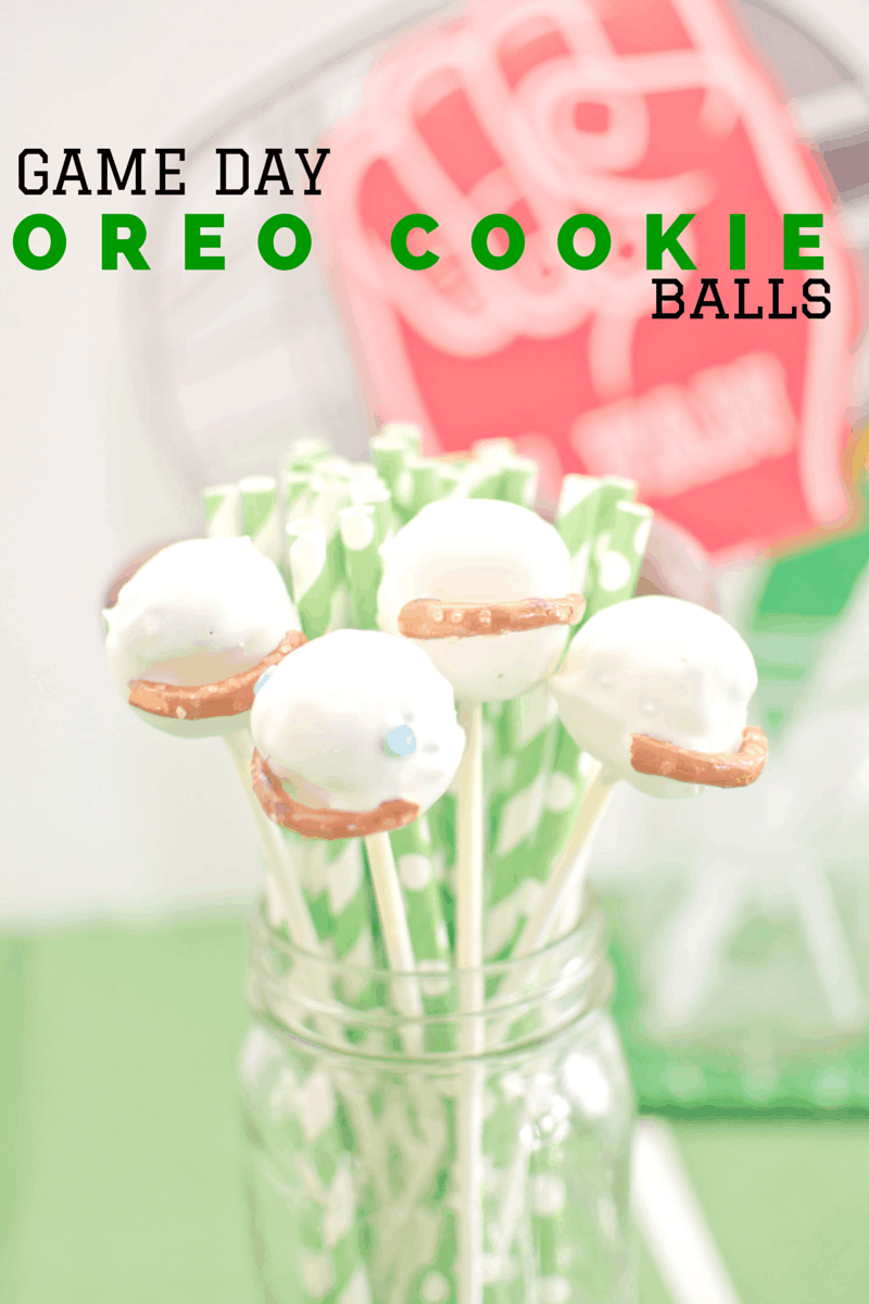 game day oreo cookie balls
