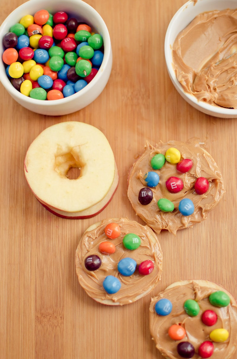 Crunchy Peanut Butter and Apple Slices-6