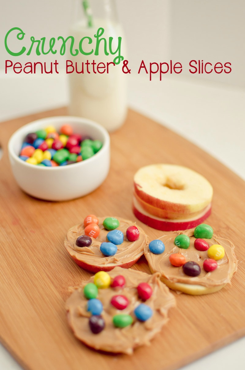 Crunchy Peanut Butter and Apple Slices