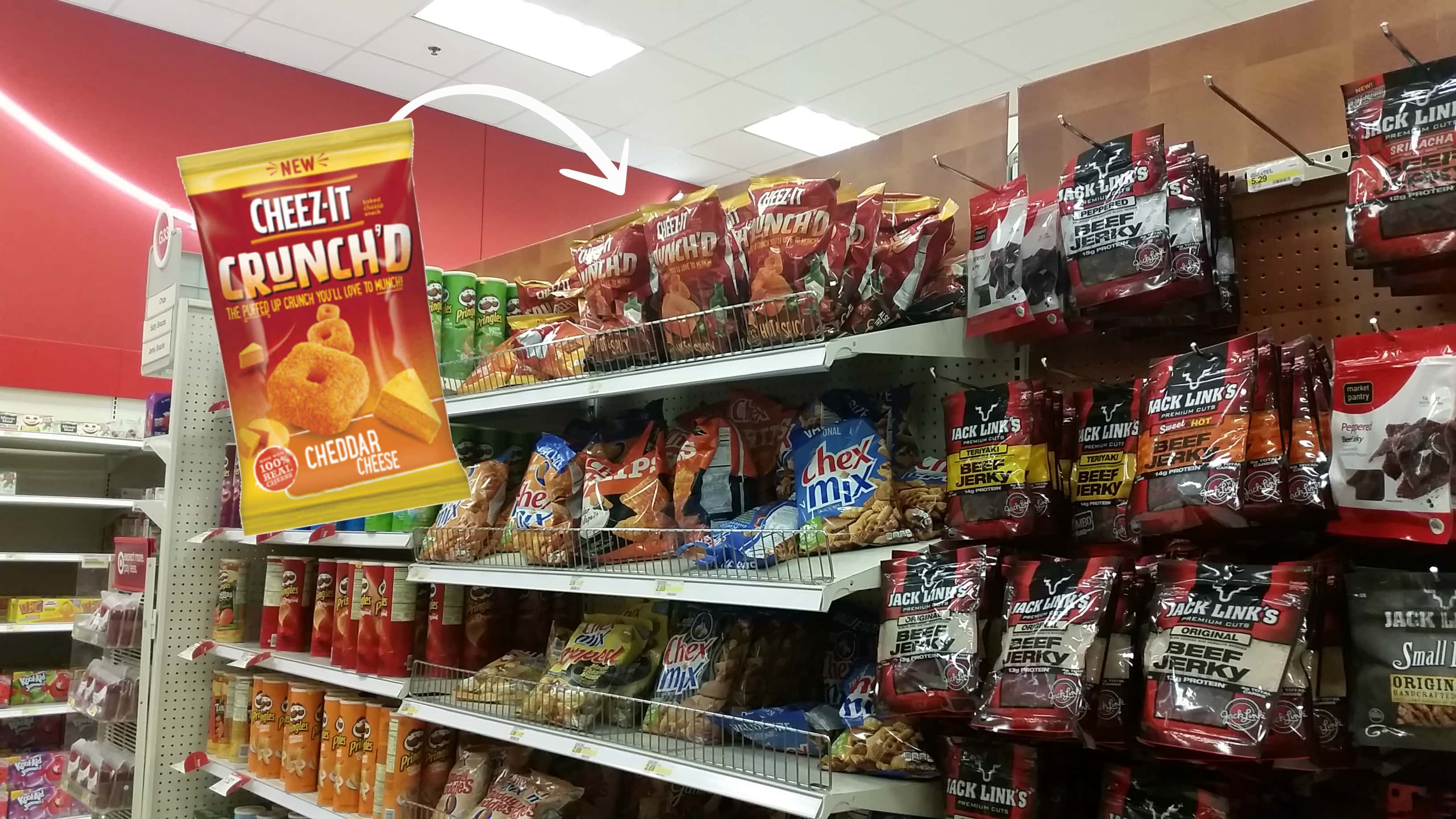 cheez it crunchd at target