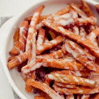Cinnamon Sugar Sweet Potato Fries