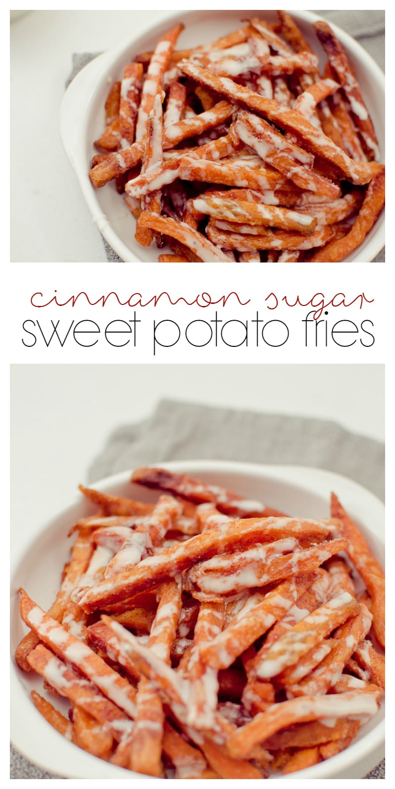 cinnamon sugar sweet potato fries