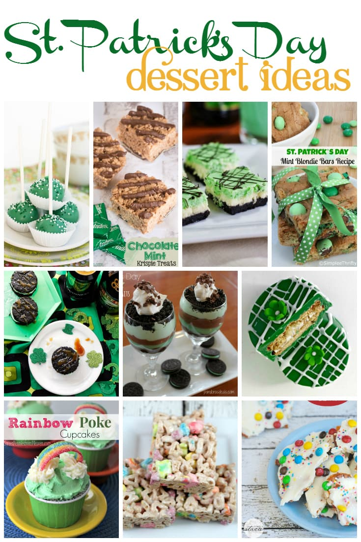 st patricks day dessert ideas