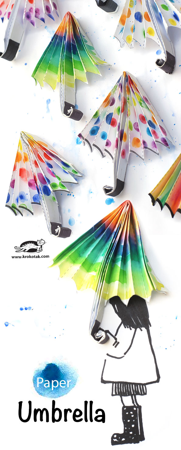 18 Paper Umbrellas From KROKTAK