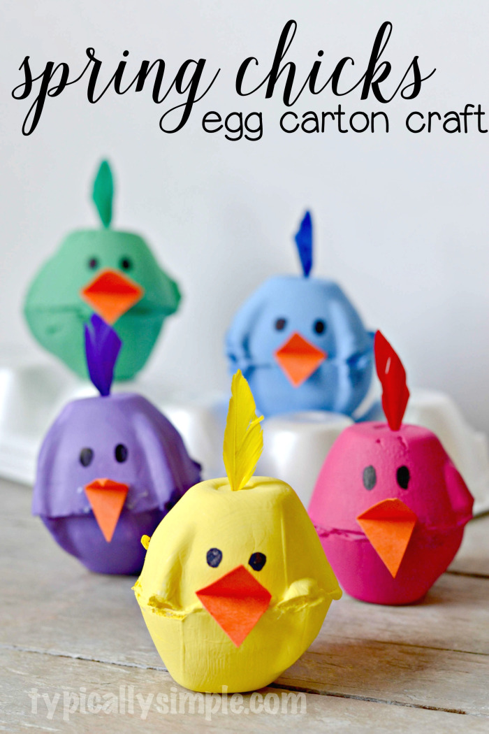 Egg-Carton-Spring-Chicks
