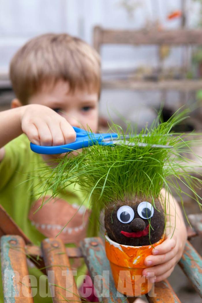 Grass-Head-for-kids