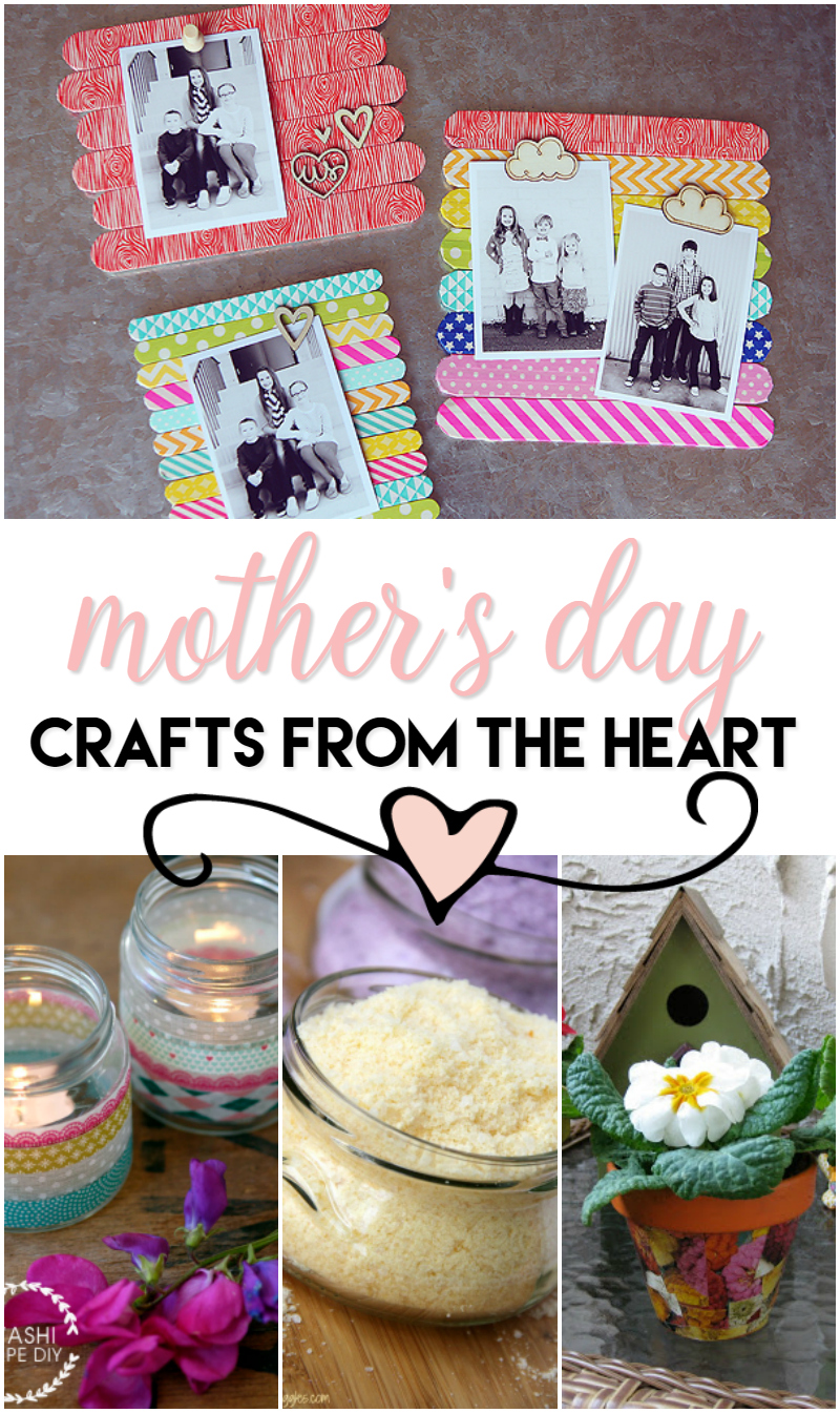 mothers day crafts from the heart