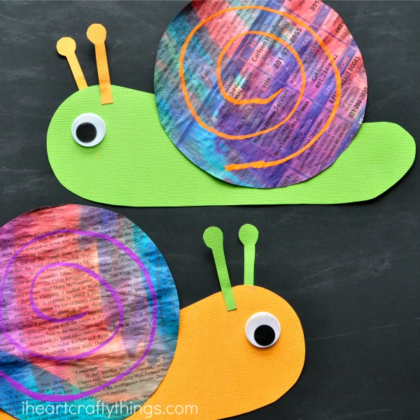 newspaper-snail-craft-2