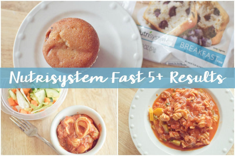 nutrisystem fast 5+ results