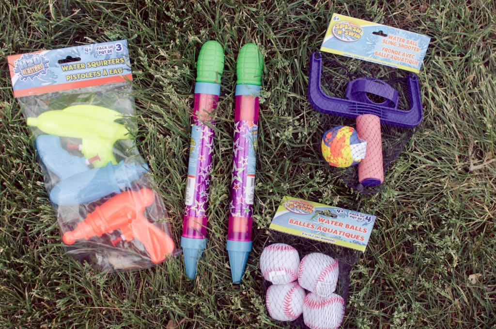 create a summer fun bucket from the dollar store-10