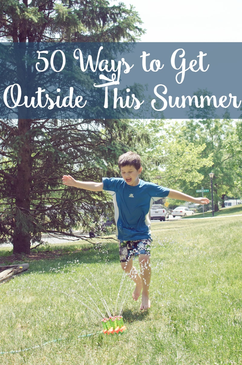 50 ways to get outside this summer