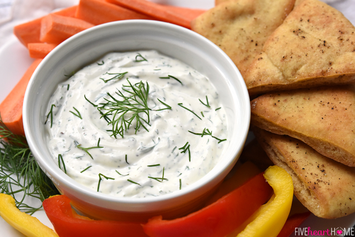 Greek-Yogurt-Dill-Dip-with-Baked-Pita-Wedges-Pita-Chips-Appetizer-Recipe-by-Five-Heart-Home_700pxHoriz