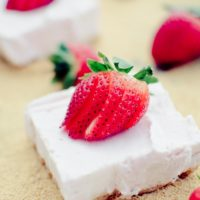Frozen Greek Yogurt Bars