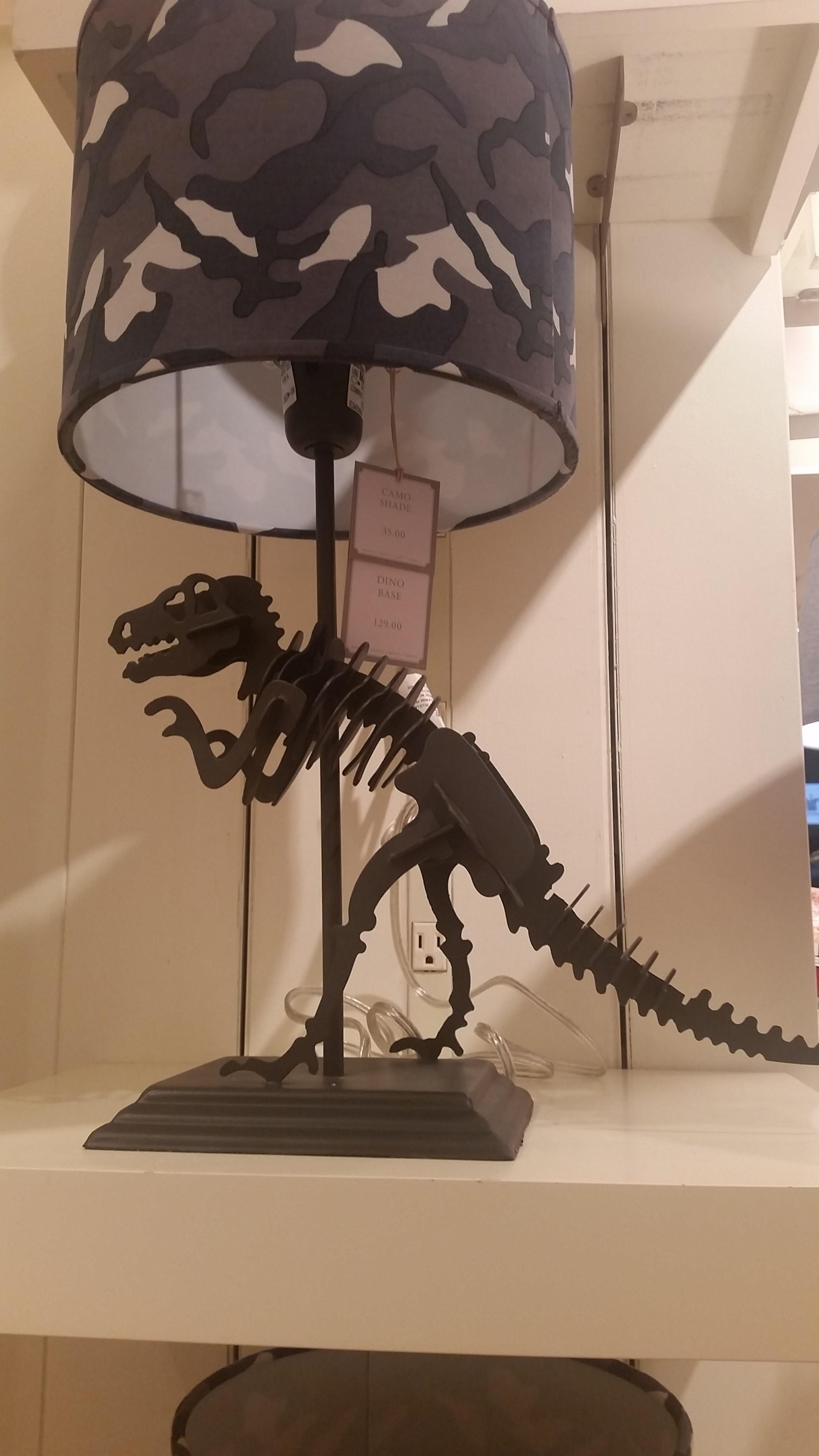 DIY Dinosaur Lamp for Less Than 30 A Grande Life