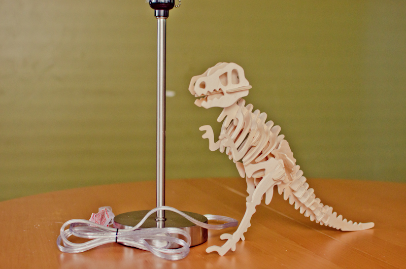 DIY Dinosaur Lamp-1